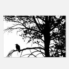 Raven Thoughts Postcards (Package of 8)
