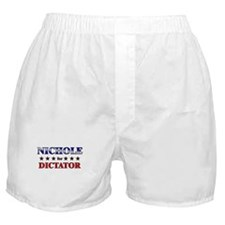 NICHOLE for dictator Boxer Shorts