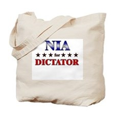 NIA for dictator Tote Bag