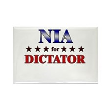 NIA for dictator Rectangle Magnet