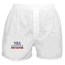 NIA for dictator Boxer Shorts