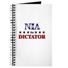NIA for dictator Journal