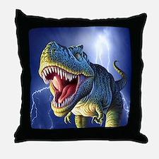 T-Rex 5 Throw Pillow