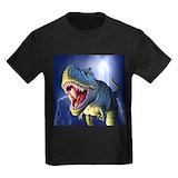 Dinosaur Kids T-shirts (Dark)