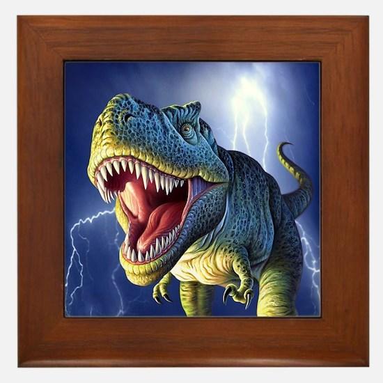 T-Rex 5 Framed Tile