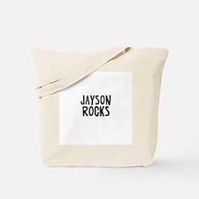 Jayson Rocks Tote Bag