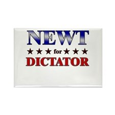 NEWT for dictator Rectangle Magnet