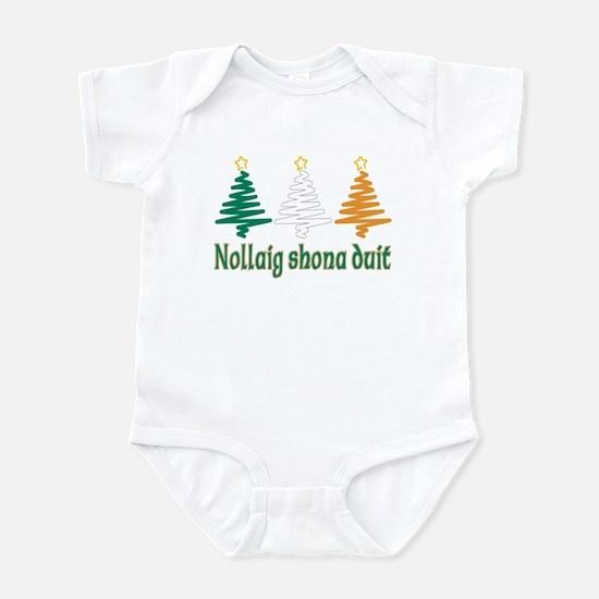 Nollaig shona duit Infant Bodysuit