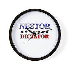 NESTOR for dictator Wall Clock