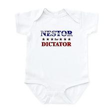 NESTOR for dictator Infant Bodysuit