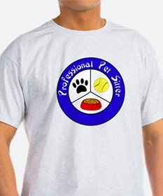 Professional Pet Sitter Crest T-Shirt