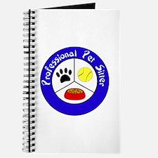 Professional Pet Sitter Crest Journal