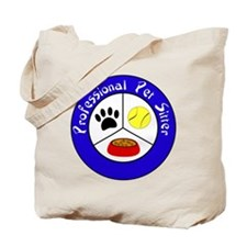 Professional Pet Sitter Crest Tote Bag