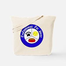 Professional Pet Sitter Crest Tote Bag