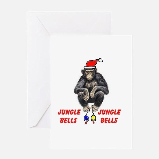 JUNGLE BELLS Greeting Card
