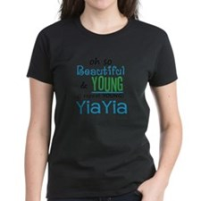 Beautiful and Young YiaYia Tee