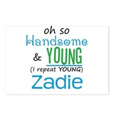 Handsome and Young Zadie Postcards (Package of 8)