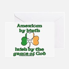 Funny Irish American Joke Greeting Card