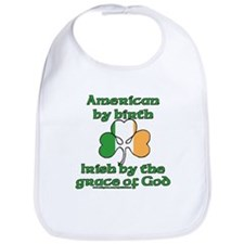 Funny Irish American Joke Bib