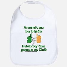 Funny Irish American Joke Bib