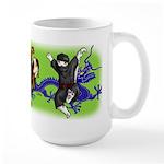 Ninja Boys Large Mug Mugs