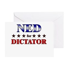 NED for dictator Greeting Card