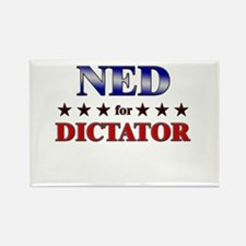 NED for dictator Rectangle Magnet