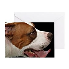 Unique Bull terrier dogs Greeting Card