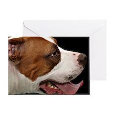Unique Bull dog Greeting Card