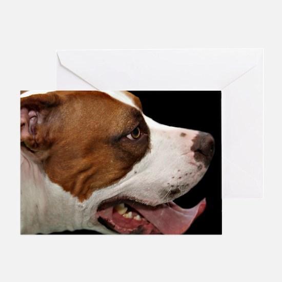 Pit bulls Greeting Card