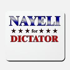 NAYELI for dictator Mousepad