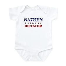 NATHEN for dictator Infant Bodysuit