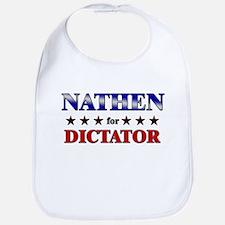 NATHEN for dictator Bib