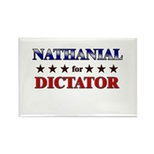 NATHANIAL for dictator Rectangle Magnet