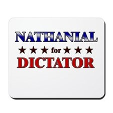 NATHANIAL for dictator Mousepad