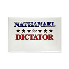 NATHANAEL for dictator Rectangle Magnet