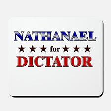 NATHANAEL for dictator Mousepad