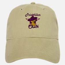 Triathlon Chick #9 Baseball Baseball Cap