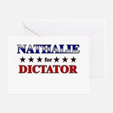 NATHALIE for dictator Greeting Card