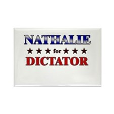 NATHALIE for dictator Rectangle Magnet