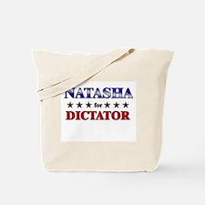 NATASHA for dictator Tote Bag