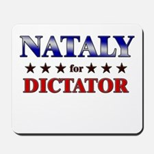 NATALY for dictator Mousepad