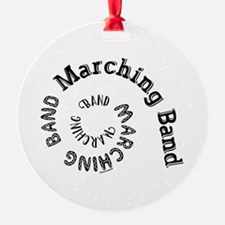 Marching Band Spiral Ornament