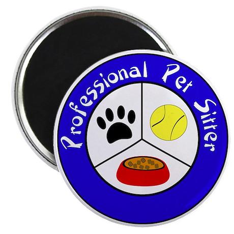 Professional Pet Sitter Crest Magnet