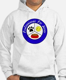 Professional Pet Sitter Crest Hoodie