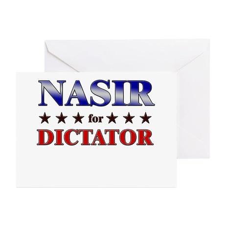 NASIR for dictator Greeting Cards (Pk of 20)