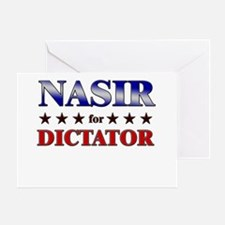 NASIR for dictator Greeting Card