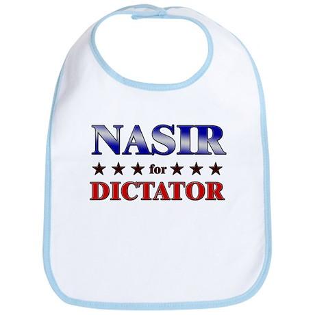 NASIR for dictator Bib