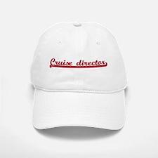 Cruise director (sporty red) Baseball Baseball Cap