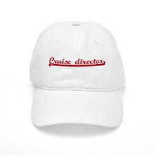 Cruise director (sporty red) Baseball Cap